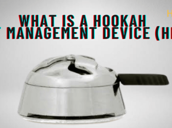 What is a Hookah Heat Management Device (HMD)?